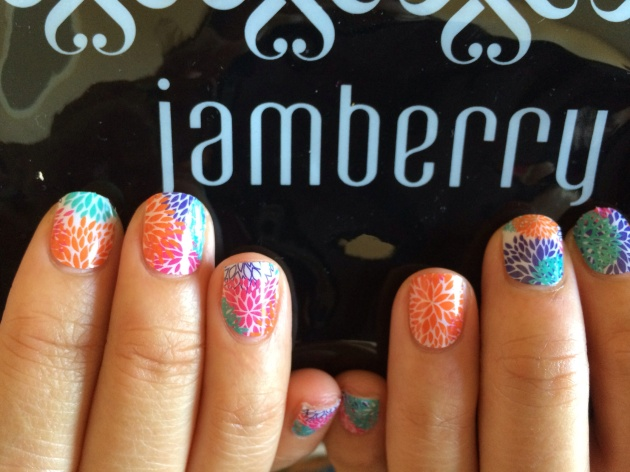 Jamberry Nails Punchy Puff