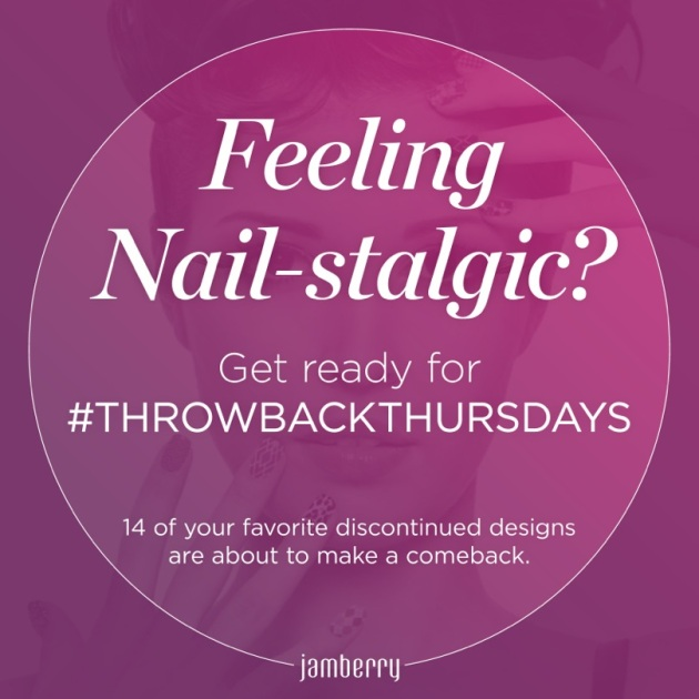 Jamberry Nails #ThrowbackThursdays