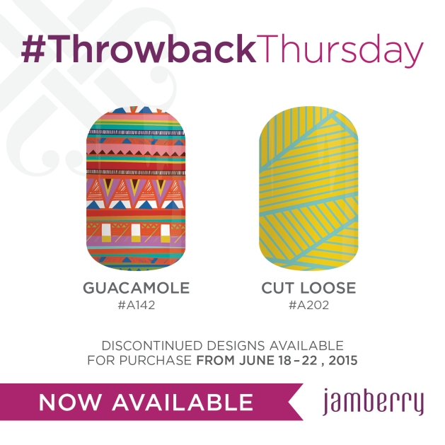 Jamberry Nails Cut Loose
