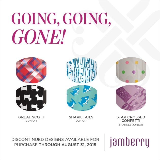 Jamberry Juniors Going, Going, GONE