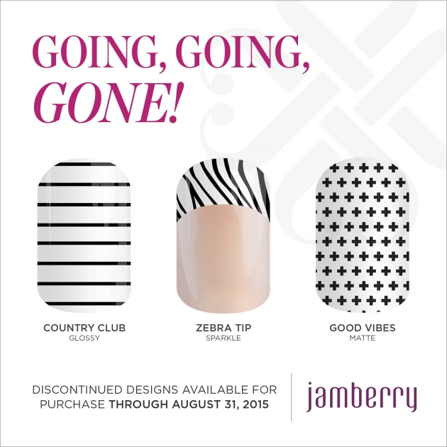 Jamberry Going, Going, GONE