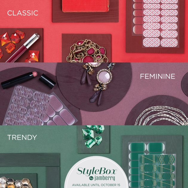 Jamberry October StyleBox