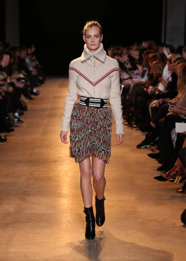 My favorite look from Isabel Marant Winter 2015 Collection